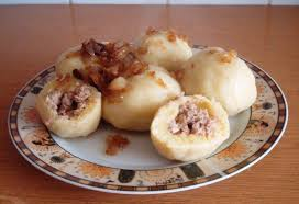 Patata rellenas, típica comida polaca