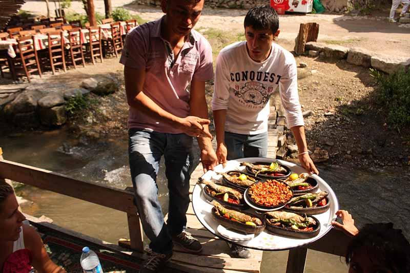 Comida en Capadocia