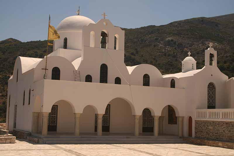 Foto del pueblo de Naxos, Grecia