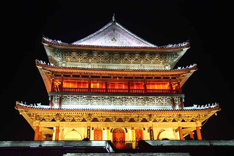 Pagoda en Xian