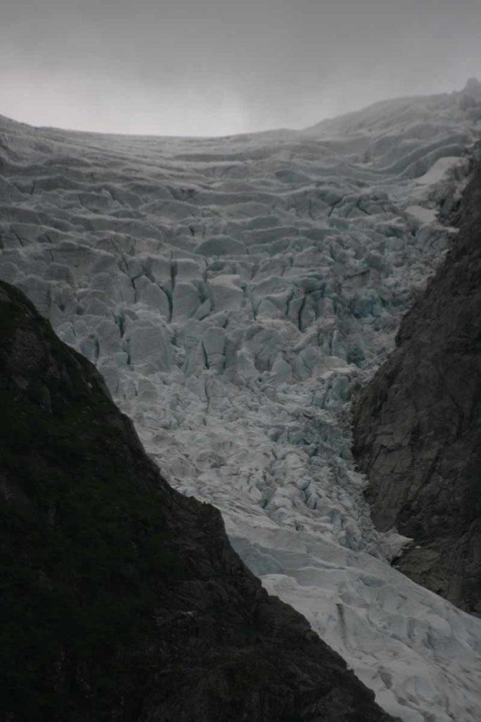 Glaciar bondhusbreen