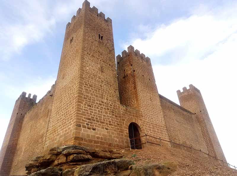 Bonito castillo en Sádaba
