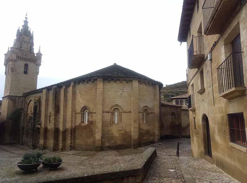 Iglesia de San Martín en Uncastillo
