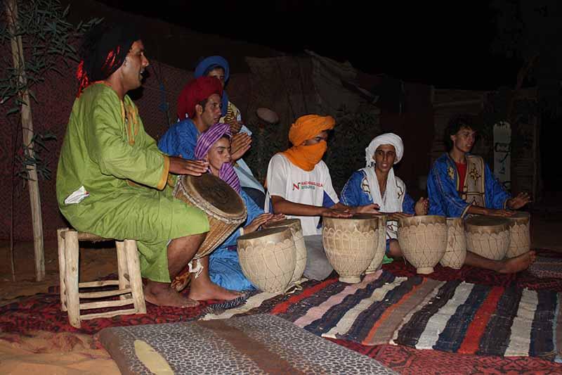 Cantos típicos  bereberes