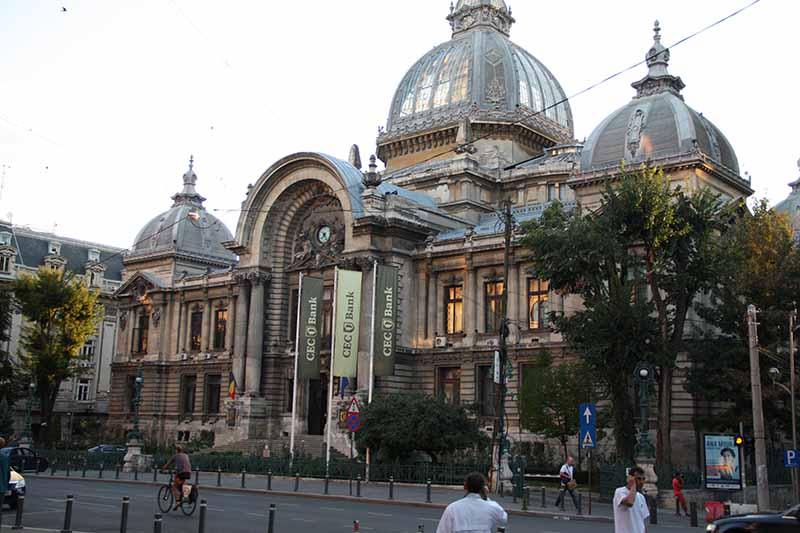 Edificio de la caja de ahorros de  de Bucarest