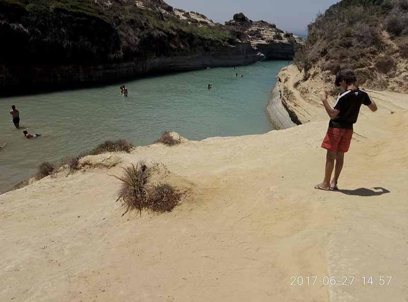 Canal del amor, Corfú