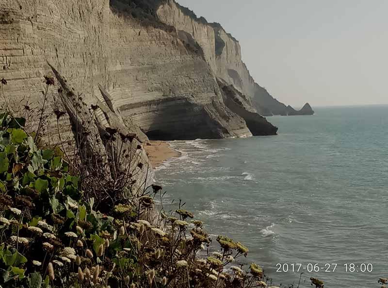 Peroulades, isla de Corfú