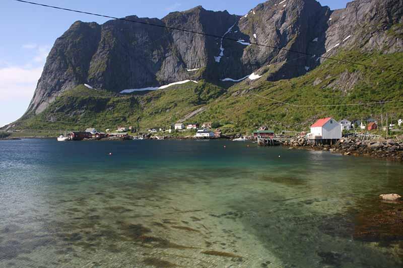 Playas en islas Lofoten